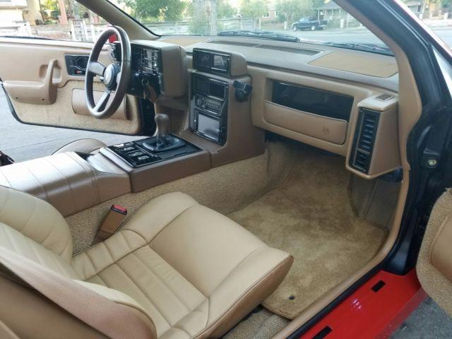 1988 Pontiac Fiero Gt Manual Show Room Custom Navigation 38000 Miles