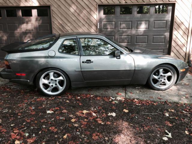 1988 Porsche 944 Turbo S Stone Grey Metallic Light Grey