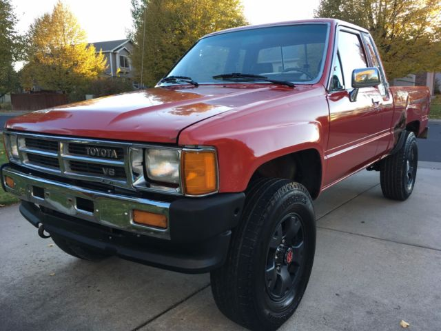 1988 toyota pickup 4x4 v6 xtra cab rare. Black Bedroom Furniture Sets. Home Design Ideas
