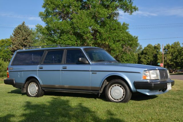 1988 volvo 240 dl wagon one owner super clean 94k miles. Black Bedroom Furniture Sets. Home Design Ideas