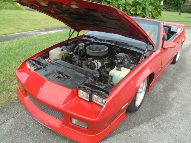 1989 Red Chevy Camaro Rs – Wonderful Image Gallery