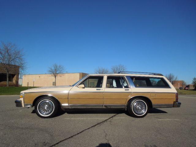 1989 chevrolet caprice classic estate wagon. Black Bedroom Furniture Sets. Home Design Ideas