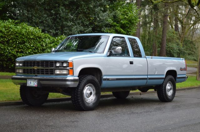 Chevy Silverado Extended Cab Bed Size