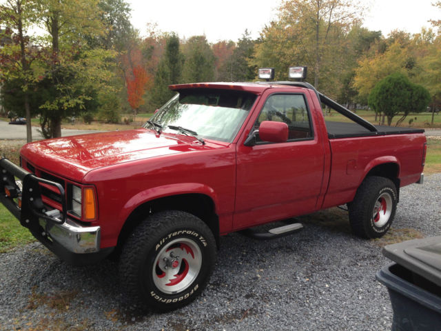 1989 Dodge Dakota 360 V8 4x4 Supertruck W Nitrous