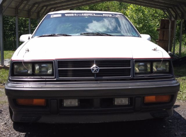 1989 Dodge Lancer Shelby