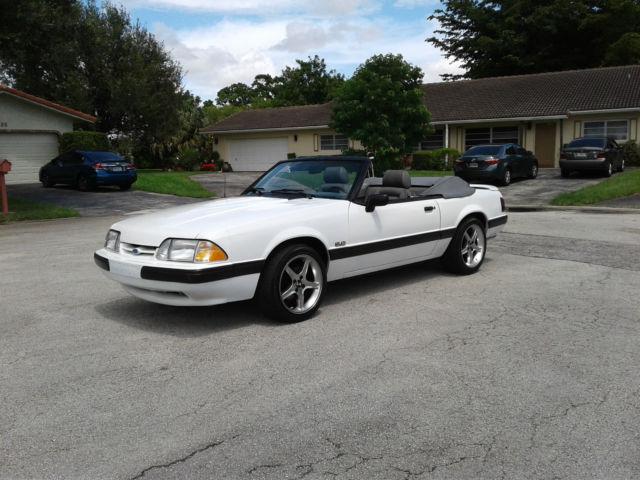 Mustang 1989 5.0 Specs