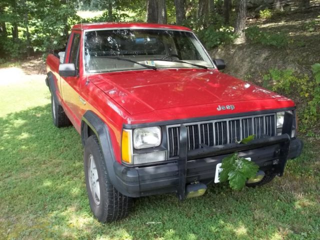 1989 jeep comanche 4x4 with ac and 7 ft long bed. Black Bedroom Furniture Sets. Home Design Ideas