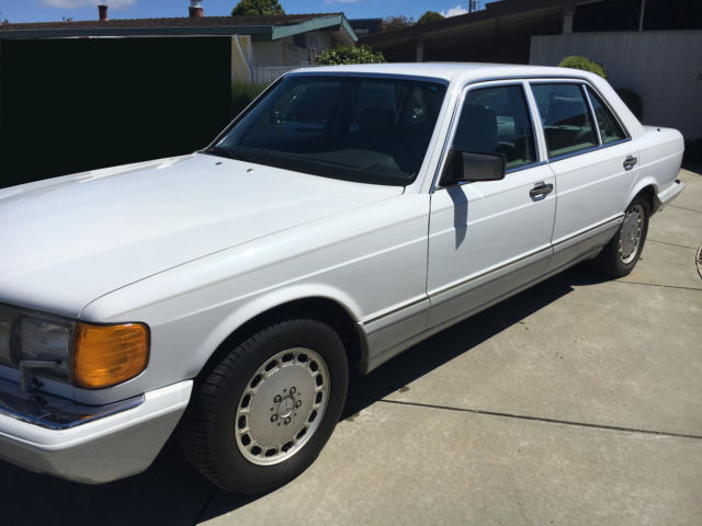 1989 mercedes 300 sel one owner for Mercedes benz s500 for sale by owner
