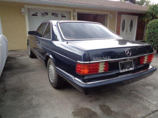 1989 mercedes benz 500 series 560 sec for Mercedes benz 560 sec