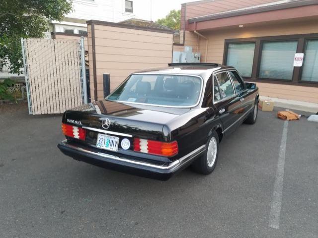 1989 mercedes benz 560 sel west coast classic for Mercedes benz 560 sel