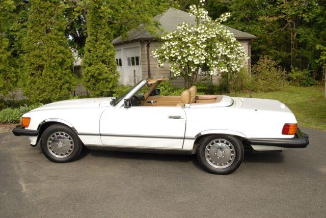 1989 mercedes benz 560 sl 2 door roadster for Mercedes benz sl 560