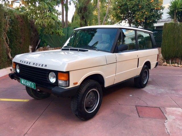1989 range rover classic 2 door v8 lhd in spain us. Black Bedroom Furniture Sets. Home Design Ideas