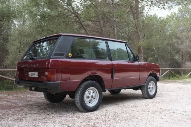 1989 range rover v8 2 door 5 speed. Black Bedroom Furniture Sets. Home Design Ideas