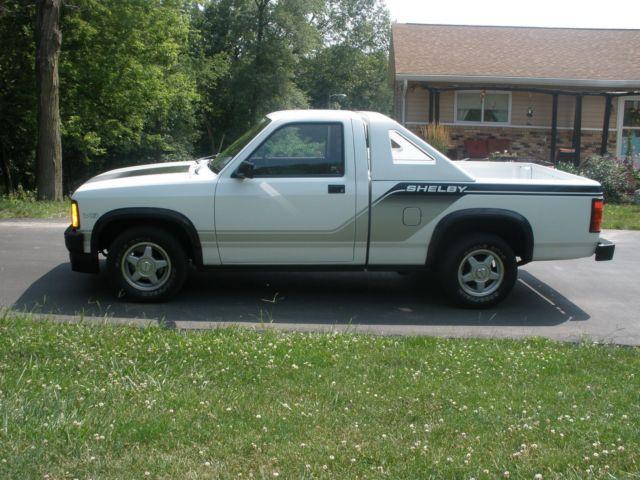 1989 Shelby Dodge Dakota Pickup 293 Of 1500