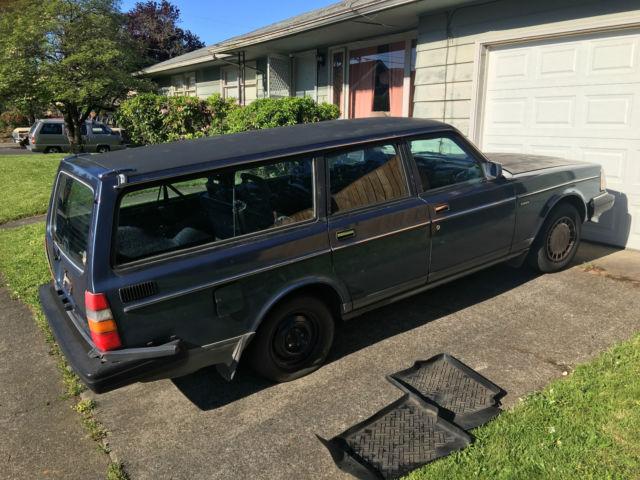 1989 volvo 240 wagon. Black Bedroom Furniture Sets. Home Design Ideas