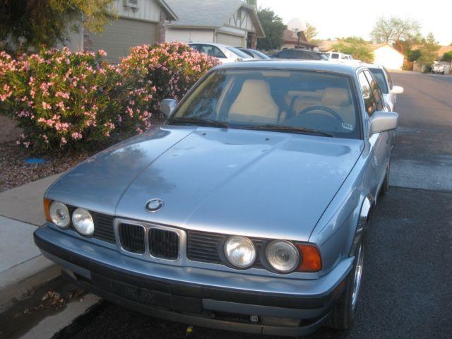1990 Bmw 535i Fully Loaded Sunroof Baby Blue