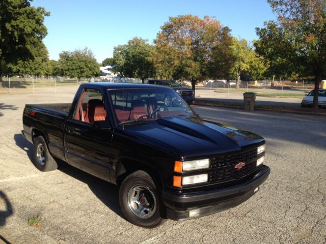 1990 chevrolet 454 ss c 1500 modified muscle short bed pick up truck