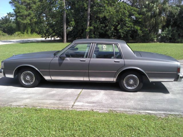 Used Cars West Palm Beach >> 1990 Chevrolet Caprice Classic