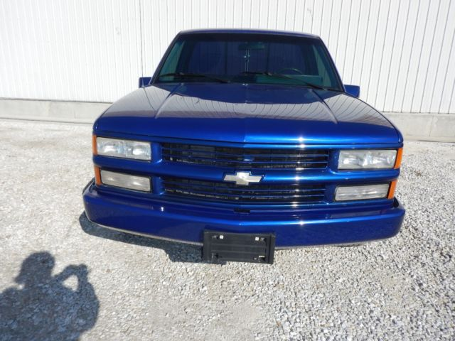 1990 Chevrolet Pu C1500 Pickup Chev Blue
