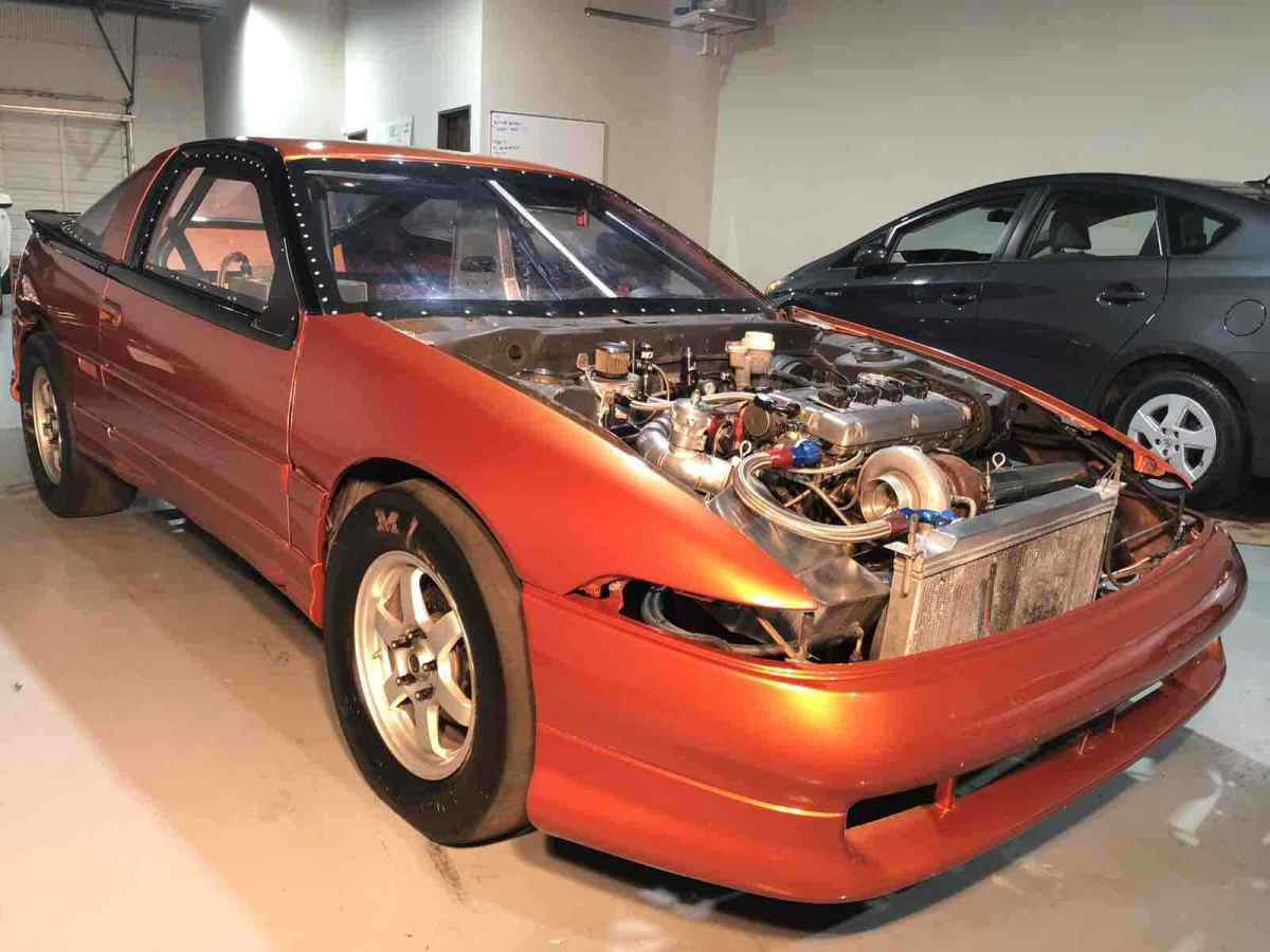 1990 Eagle Talon Hatchback Orange Awd Automatic Tsi