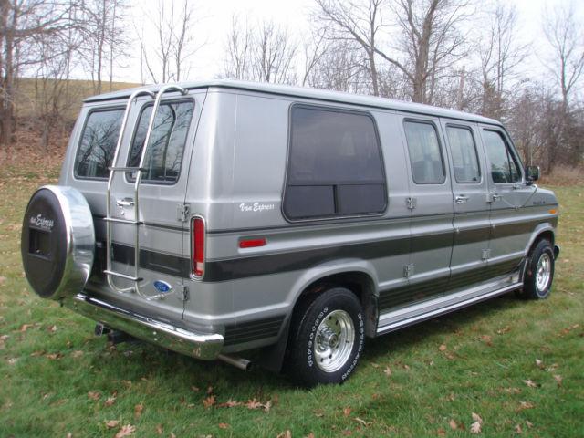 1990 Ford E 150 Conversion Van 66 000 Mi Pristine 100