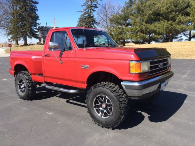 Ford F Flareside X Lift Super Swamper Boggers Low Reserve