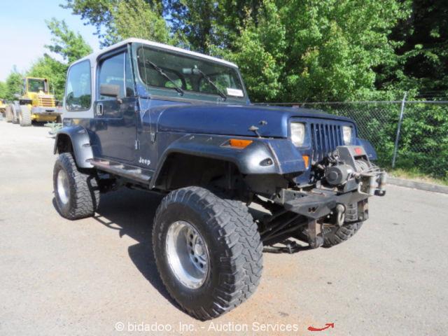 1990 Jeep Wrangler Yj 4 0l A T 4x4 Hard Top W Soft Top