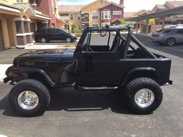 1990 jeep wrangler yj no reserve. Black Bedroom Furniture Sets. Home Design Ideas