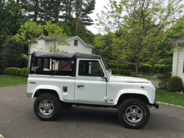 1990 land rover defender 90 lhd uk import 2015 just. Black Bedroom Furniture Sets. Home Design Ideas