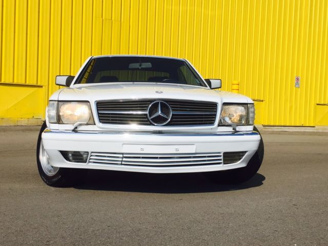 1990 mercedes 560sec w126 sec coupe amg euro model 59 800 for Mercedes benz 560 sec amg for sale