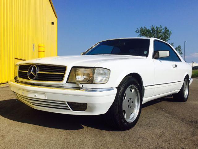1990 mercedes 560sec w126 sec coupe amg euro model 59 800 miles japan import. Black Bedroom Furniture Sets. Home Design Ideas