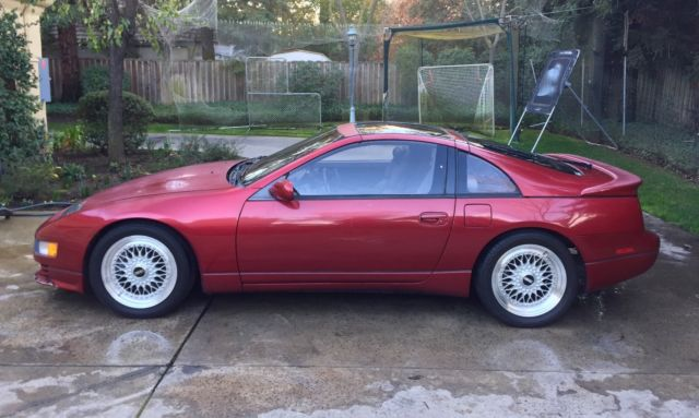 1990 nissan 300zx twin turbo red 511 horsepower. Black Bedroom Furniture Sets. Home Design Ideas