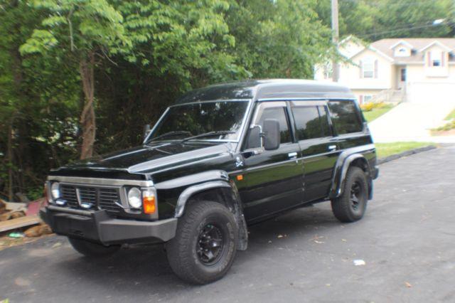 1990 Nissan Patrol Safari Y60 4x4 4 2L Diesel