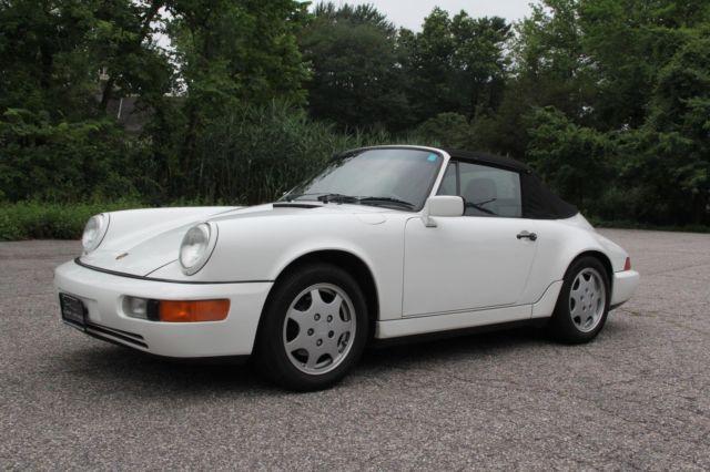 1990 porsche 911 carrera c4 cabriolet 107 052 miles excellent condition. Black Bedroom Furniture Sets. Home Design Ideas