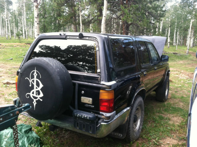 1990 toyota 4runner 4x4 suv 3 0l v6 automatic no reserve for 1990 toyota 4runner rear window motor