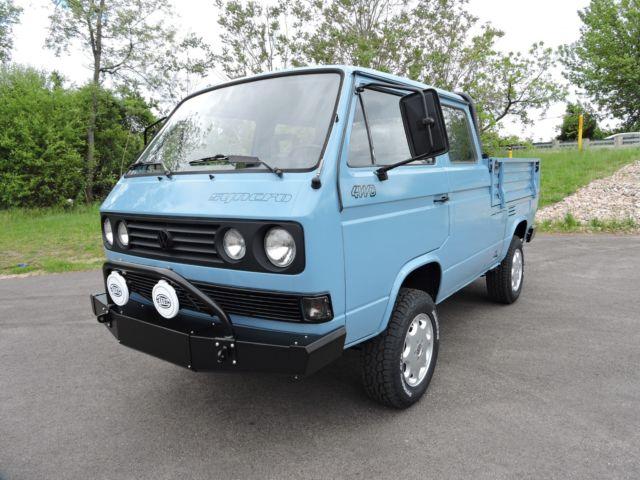Cherry Hill Volkswagen >> 1990 VW DOKA SYNCRO 4WD 5-Spd. Axle Lockers. Mint. Super Low 22K mi. NO RESERVE