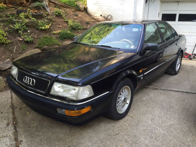1991 audi v8 quattro 5 speed manual 3 6l. Black Bedroom Furniture Sets. Home Design Ideas