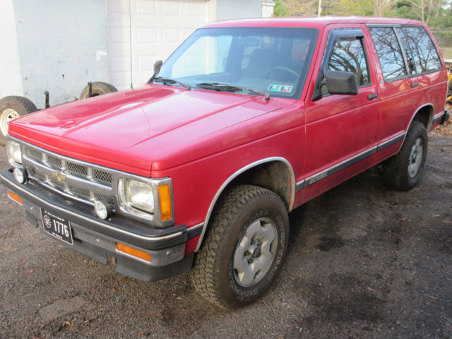 1991 Chevy S10 Blazer 4x4 4 Door V 6 Not All Rotted