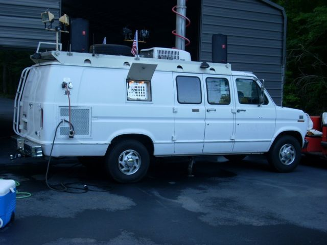1991 Ford E350 Television News Van With Generator