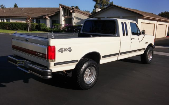 1991 Ford F 250 Xlt Lariat 4x4 Extended Cab Quot Rust Free