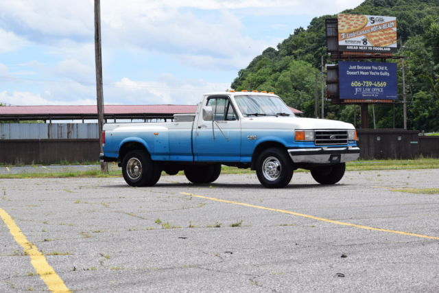 Ford Dually Single Cab For Sale >> 1991 Ford F-350 XLT Lariat Single Cab Dually 7.3 Diesel