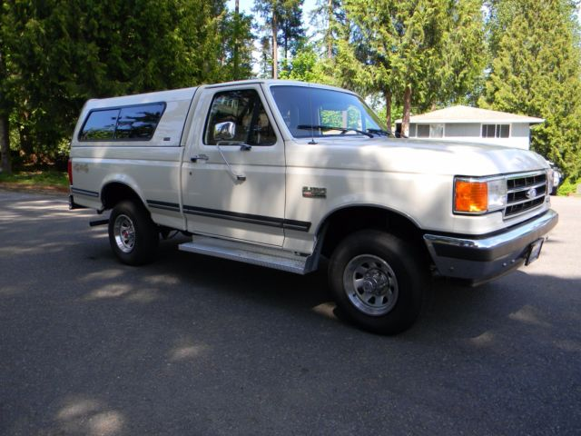 1991 ford f150 4x4 low miles 36k xlt model fully loaded inline 6 cyl engine. Black Bedroom Furniture Sets. Home Design Ideas