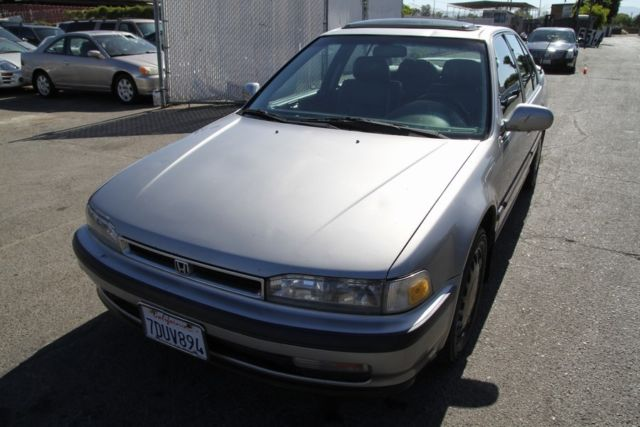 1991 honda accord se automatic 4 cylinder no reserve for How many miles does a honda accord last