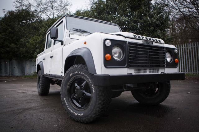 1991 Land Rover Defender 110 Double Cab Crew Cab Pick