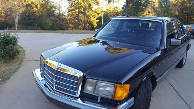 1991 mercedes benz 350sd for Mercedes benz of athens ga