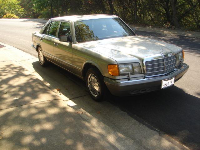 1991 mercedes benz 560sel california original car clean carfax report beauty. Black Bedroom Furniture Sets. Home Design Ideas