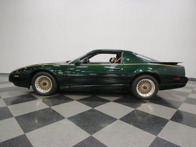 1991 Pontiac Firebird Gta 89813 Miles Med Green Metallic Coupe 350 Tpi 4 Speed A