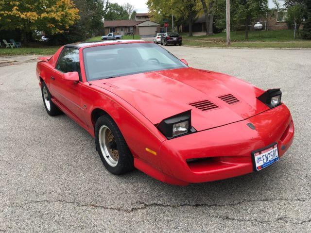 1991 Pontiac Firebird Trans Am Gta T Tops