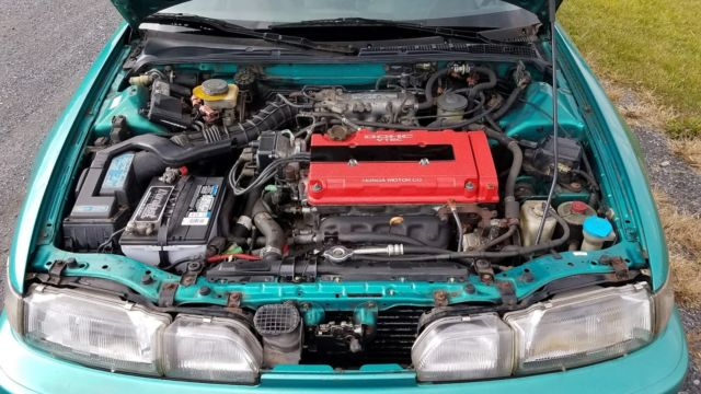 1992 Acura Integra GS R GSR Hatchbk 3 Door 17L Aztec Green Clear Title More