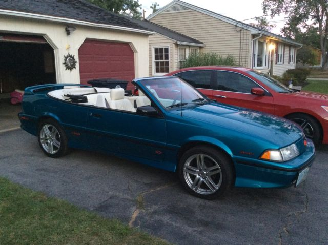 1992 chevy cavalier z24 convertible classiccarsmarks com